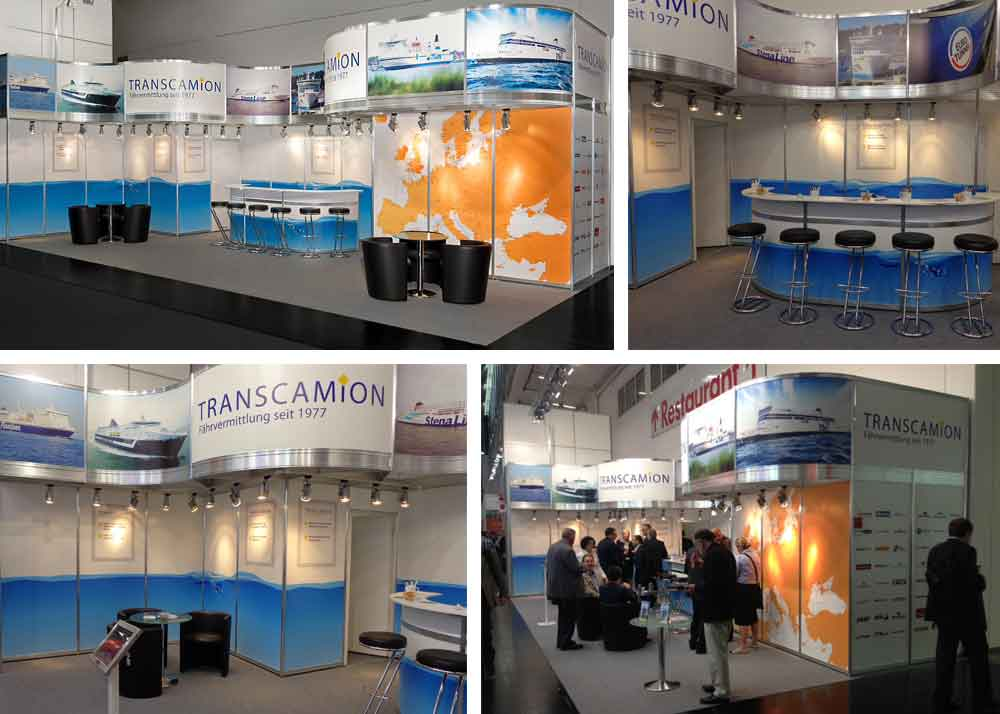Exhibition Stands Oxfordshire : Transcamion case study by michael saunders oxfordshire based